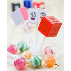 Promotional Lollipop in a Square Box