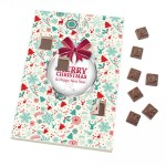 Promotional Advent Calendar-A4-Moulded Chocolates
