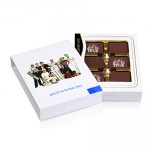 Promotional Exclusive Belgian Chocolate Box-12 Chocolates-Personalised Sleeve