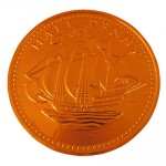 Promotional Chocolate Coin-Varying Sizes
