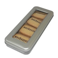 Promotional Printed Biscuit-8 Inside Pencil Tin
