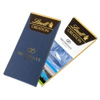 Promotional Lindt Creation Chocolate Bar