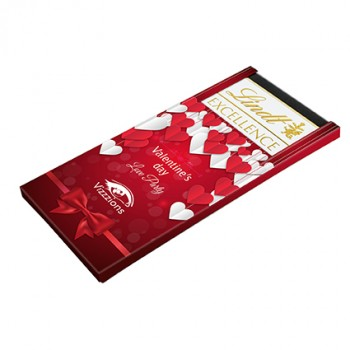 Promotional Lindt Excellence Chocolate Bar
