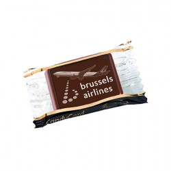 Promotional Exclusive Belgian Chocolate Single Clear Pack