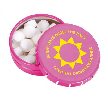 Promotional Click Tin of Mints-Full Colour