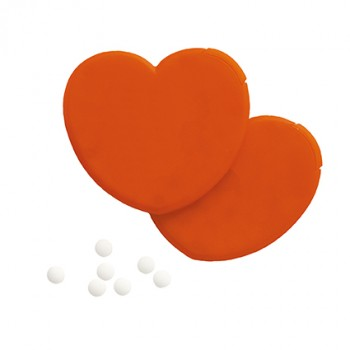 Promotional Heart Shaped Mint Dispenser