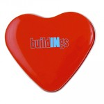Promotional Heart Tin with Sweets