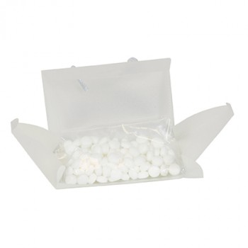Promotional Bag of Mints With Business Card Slot