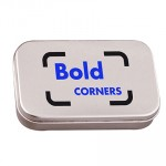 Promotional Large Hinged Tin of Mints
