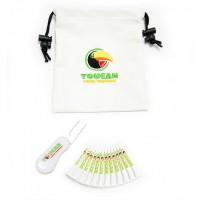 Promotional Golf Leatherette Gift Bag 10