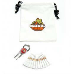 Promotional Golf Leatherette Gift Bag 7