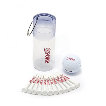 Promotional Golf Plastic Tube Pack 1
