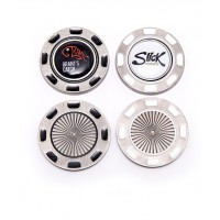Promotional Metal Poker Chip With Removable Ball Marker