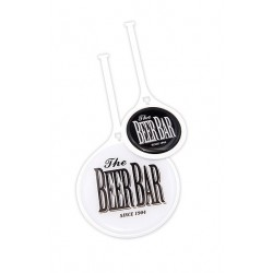 Branded Resin Domed Flexi Golf Bag Tag