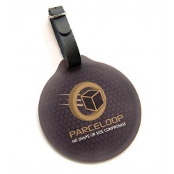 Branded Round PhotoSmart Golf Bag Tag