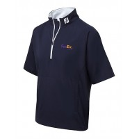 Branded Footjoy Gents Short Sleeve Golf Performance Windshirt