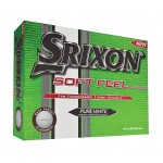 Custom Branded Srixon Soft Feel Golf Balls Dozen Pack