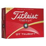 Custom Branded Titleist DT True Soft Golf Balls Dozen Pack