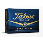 Promotional Branded Titleist NXT Tour Golf Balls Dozen Pack
