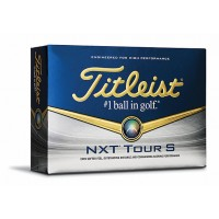 Custom Printed Titleist NXT Tour S Golf Balls Dozen Pack