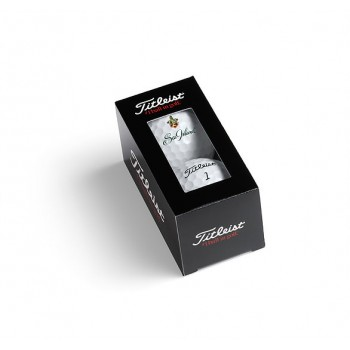 Branded Titleist Two Balls in Sleeve