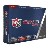 Promotional Printed Wilson DX3 Spin Golf Balls Dozen Pack