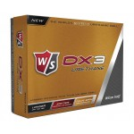 Custom Printed Wilson DX3 Urethane Golf Balls Dozen Pack