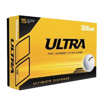 Promotional Printed Wilson Ultra Golf Balls 15 Pack