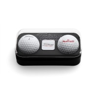 Promotional Titleist Branded Two Ball Box with Ball Marker