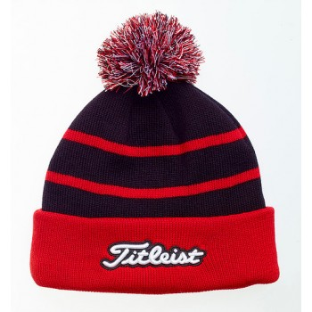 Branded Titleist Knit Pom Pom Golf Beanie