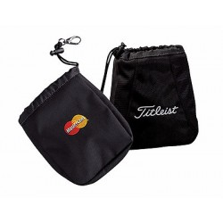 Branded Titleist Valuables Golf Pouch