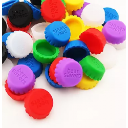 Branded Silicone Bottle Caps