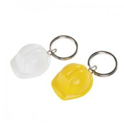 Branded Hard Hat Keyring
