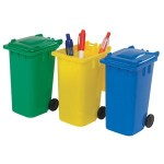 Branded Pen Wheelie Bin Pot