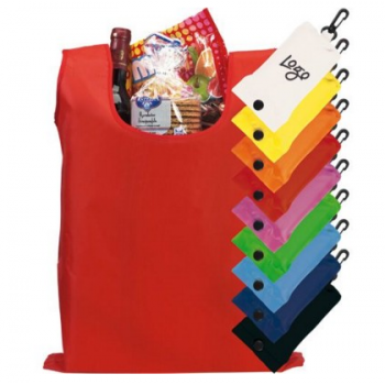 Branded Shop Easy Folding Shopper Tote Bag