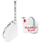 Branded 1m House Shaped Tape Measure