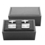 Branded Andre Philippe Black Tie Cuff Links