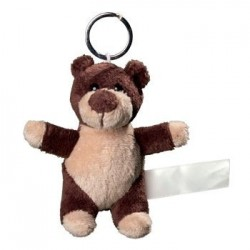 Promotional Plush Animal Keyrings