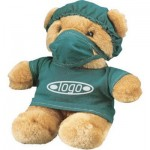 Printed Doctor Soft Teddy Bear