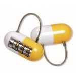 Promotional Pill Shaped Padlock