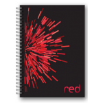 Custom Red Notebook
