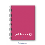 Promotional Jet Tours Wirobound Notebook