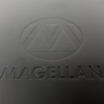 Luxury Debossed Notebook for Magellan