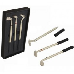 Printed Golf Club Pen Set