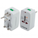 Branded Tyru World Travel Adaptor