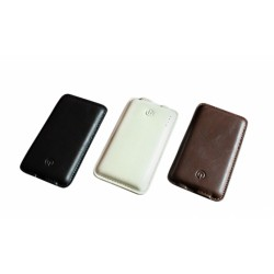 Branded Leather Powerbank