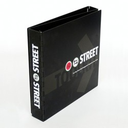 Promotional Metal Folder for Street