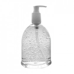 Branded Antibacterial Hand Sanitiser Gel Pump - 500ml