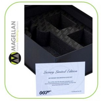 007 Luxury Drinks Packaging