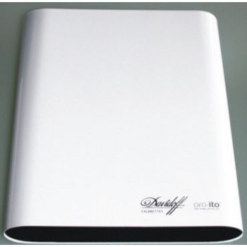 Aluminium Sleeve with rolled sides for Davidoff